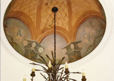 Classical Dome Mural
