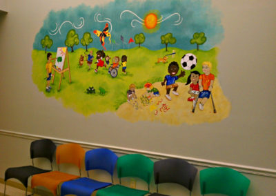 Active Children Mural