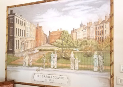 English Square Mural