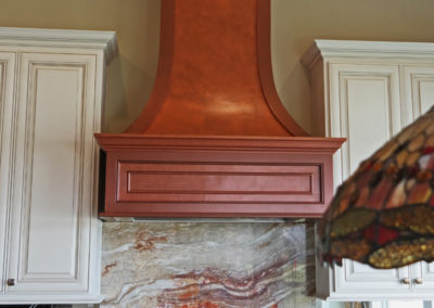 Metallic Copper Finish