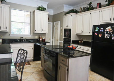 Kitchen Cabinet Refinishing by Sylvia T Designs, Mandeville