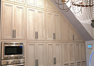 Kitchen Cabinet Refinishing by Sylvia T Designs, New Orleans