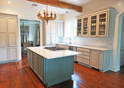 Kitchen Cabinet Refinishing by Sylvia T Designs, Covington