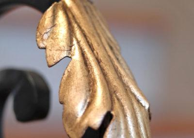 Gold Leafed Detail