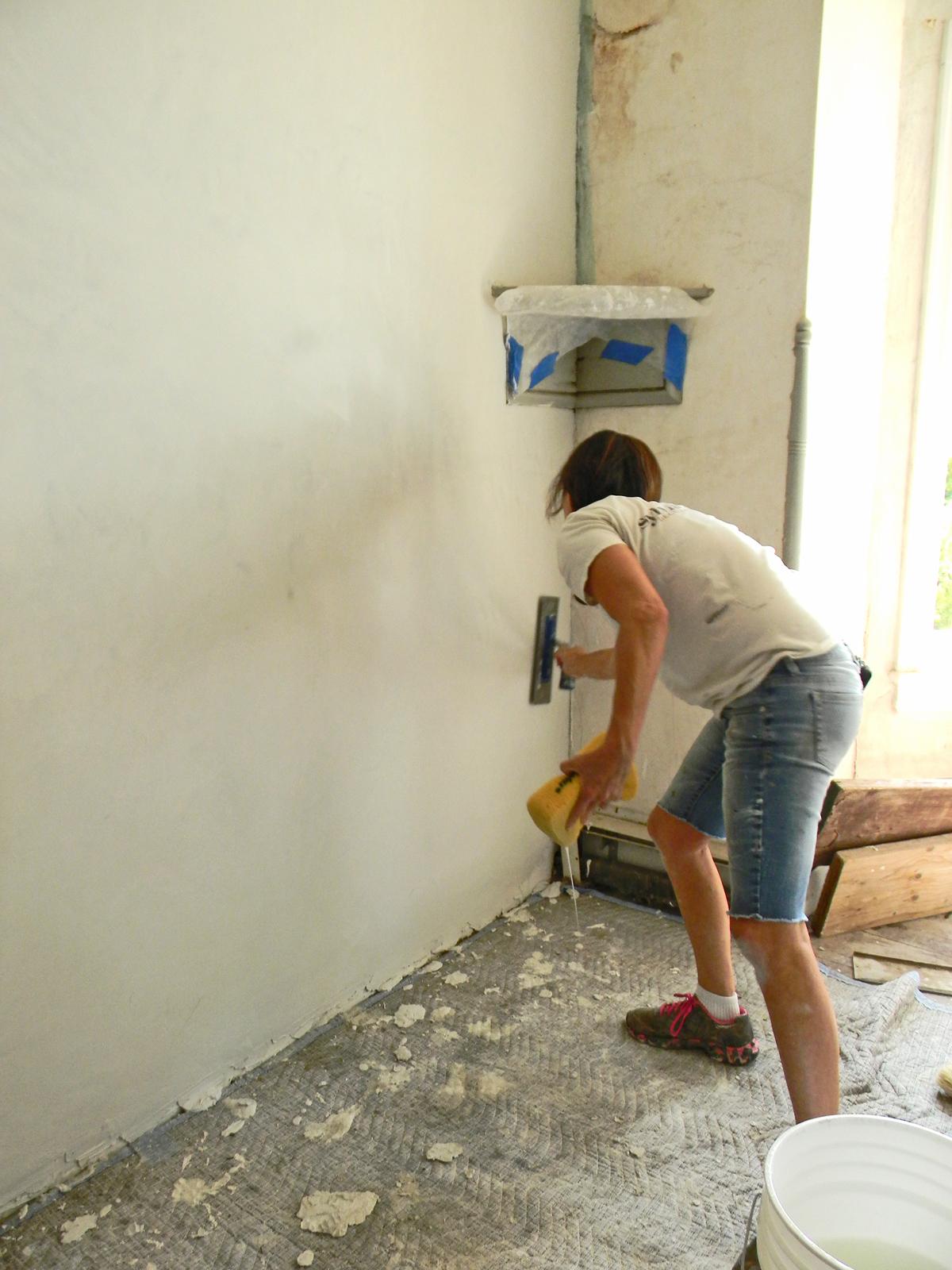 Plaster Restoration - Sylvia T Designs