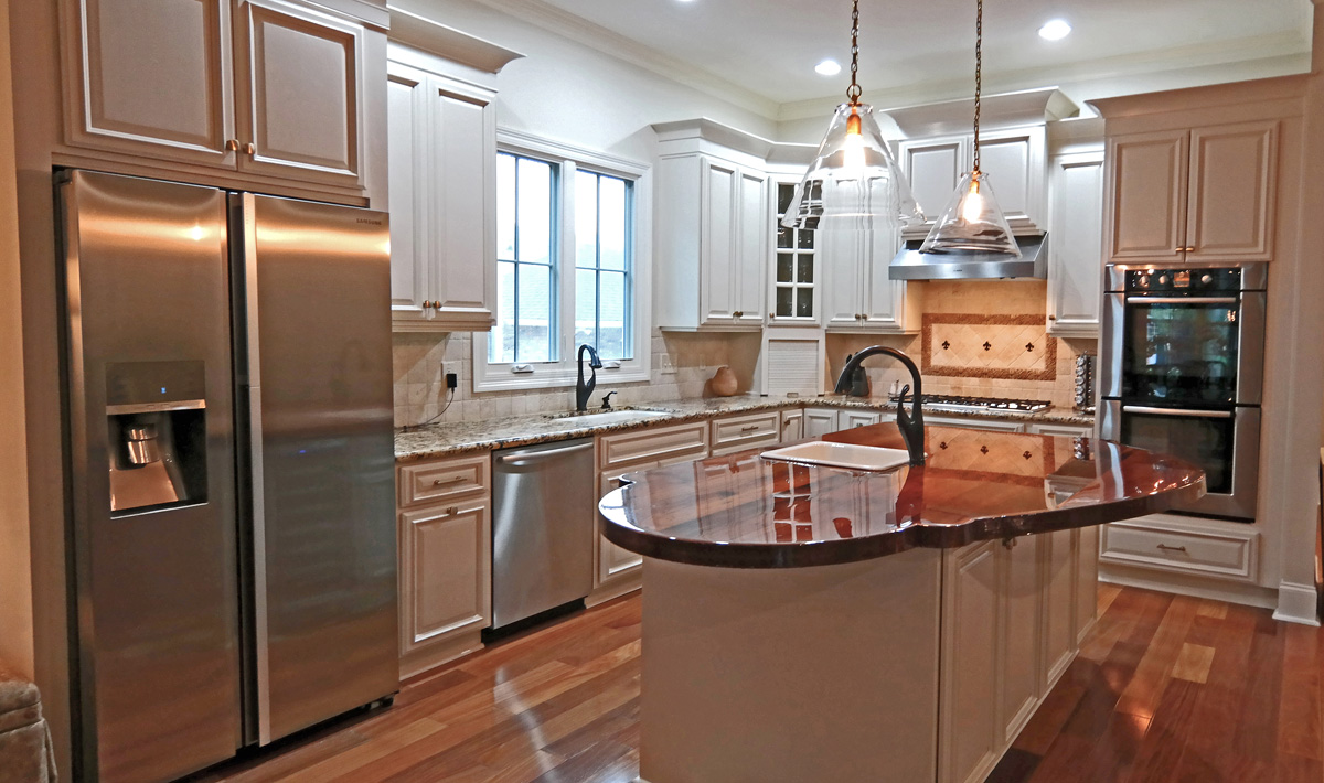 SylviaTDesigns Kitchen Cabinet Refinishing, New Orleans