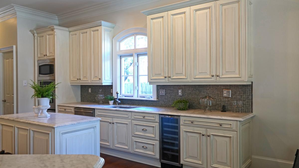 Sylviatdesigns Kitchen Cabinet Refinishing Old Metairie Sylvia T Designs