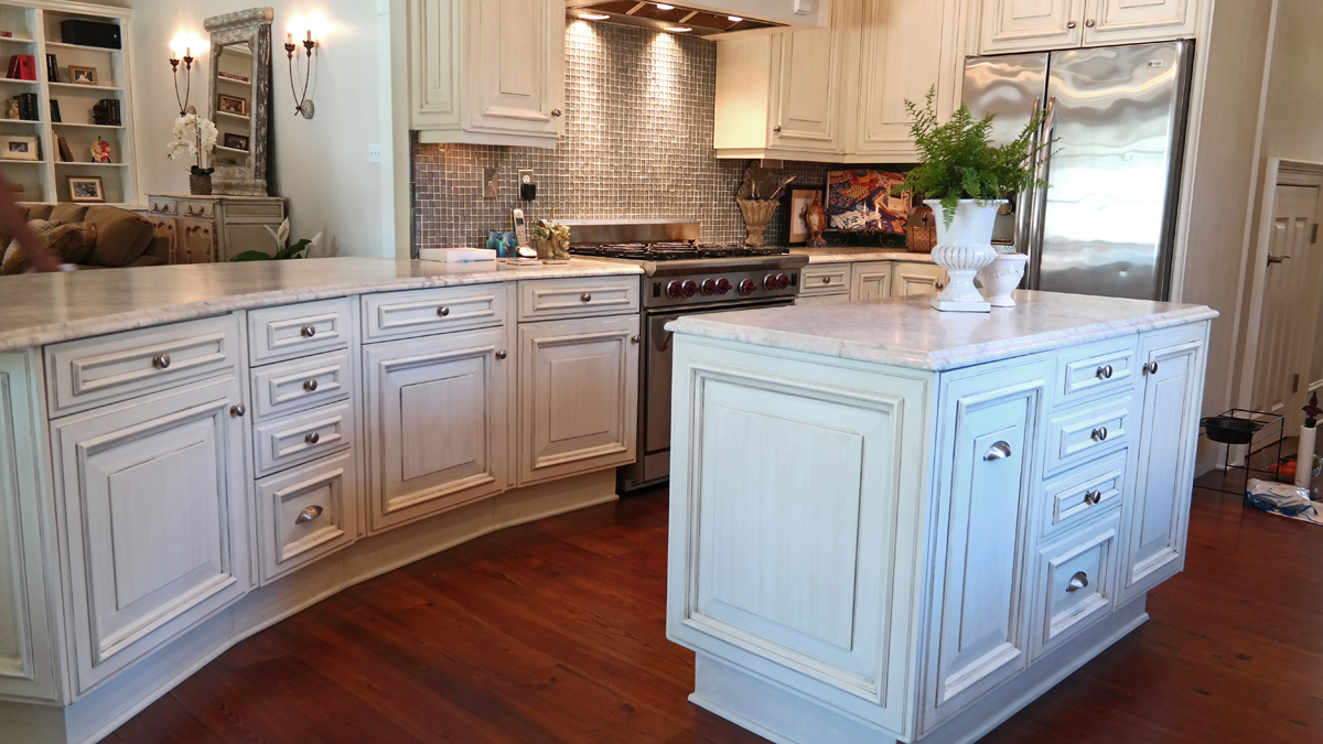SylviaTDesigns Kitchen Cabinet Refinishing, Old Metairie ...
