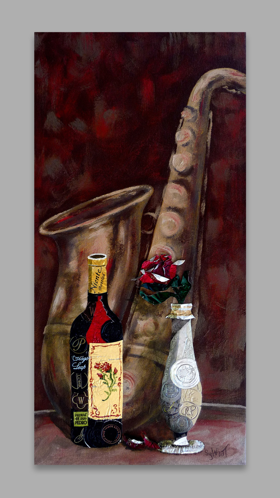 """Sax and Wine"""