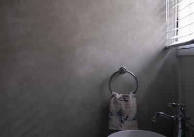 Sylvia T Designs_Bathroom Wall Finish