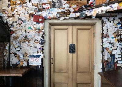 Sylvia T Designs_Belle Epoque_Speakeasy door