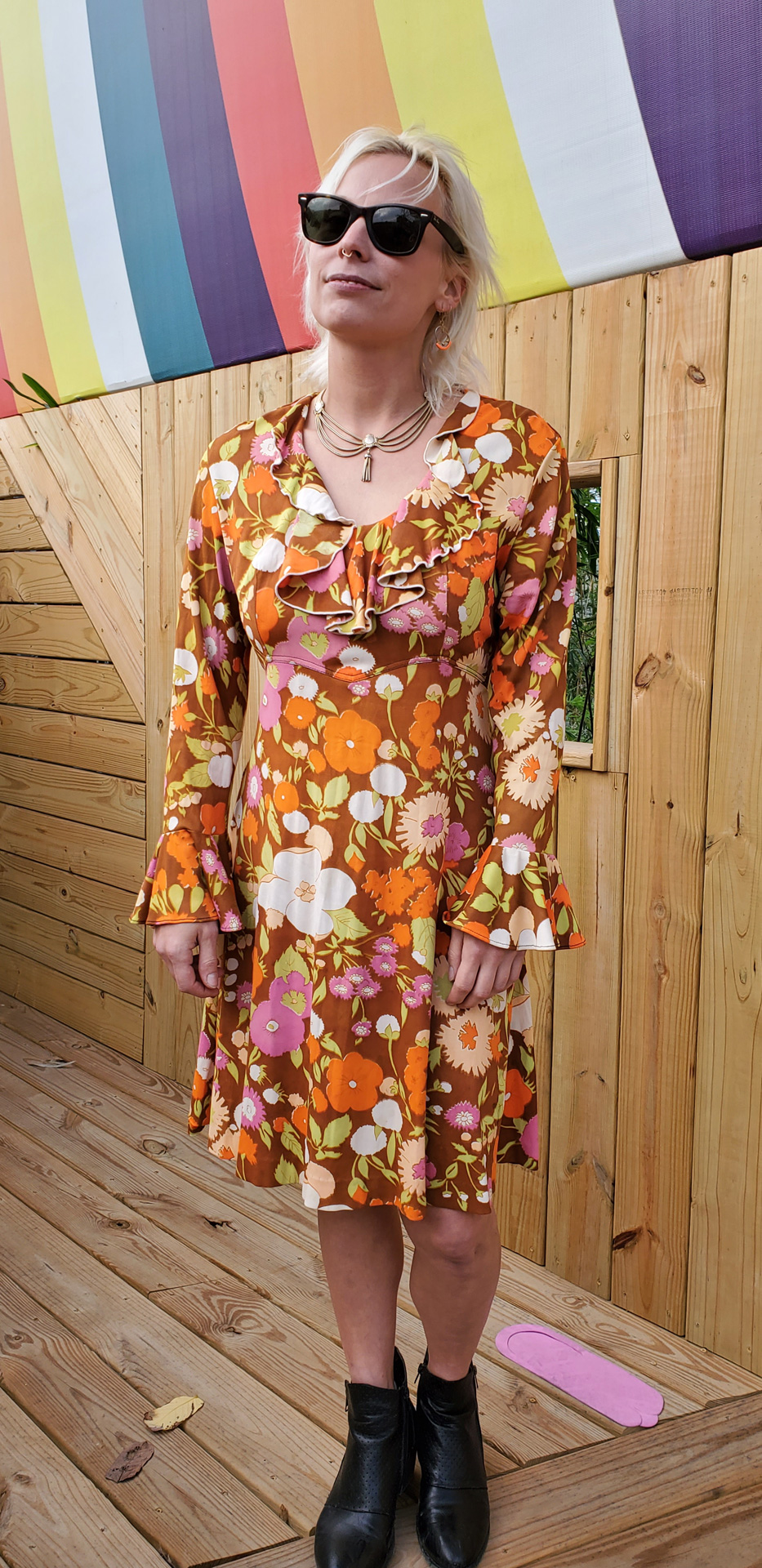 Jess Pottker, artisan apprentice of Sylvia T. Designs. New Orleans, Louisiana.